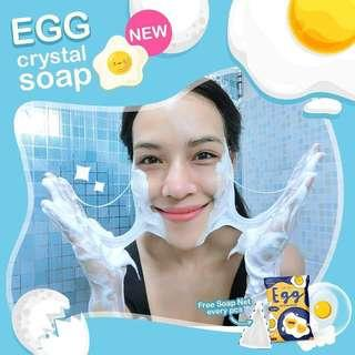 Egg Crystal Soap from THAILAND