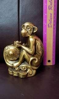 風水用品  銅猴