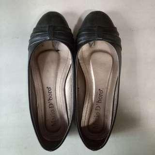 Mario D' boro Black School Shoes (Size 35)