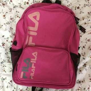 Authentic Fila Pink Bagpack