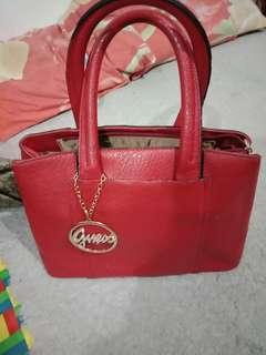 Red bag import