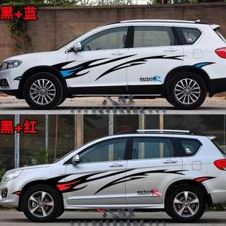 car sticker & decal