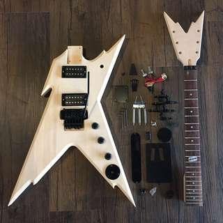 Guitar DIY - Dime Electric Guitar