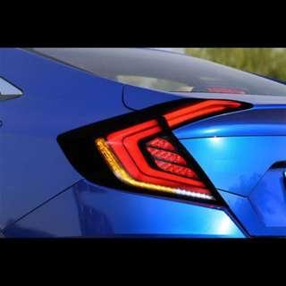 Honda Civic FC 16 Tail Lamp Light Bar Running LED