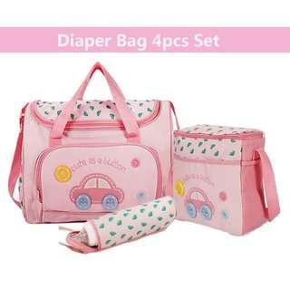 4 in 1 Baby diaper bag