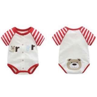 🚚 FREE MAIL 📫 [Newborn-6M] 100% Cotton Baby Romper / Bodysuit / Onesie