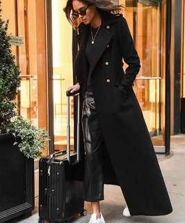 Looking for: black long coat
