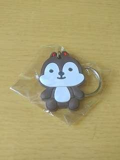 (包郵)全新 松鼠 鎖匙扣 吊飾 掛飾
