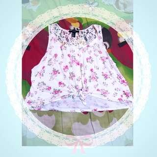 Outer Floral Forever 21