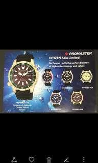 Citizen Promaster Asia Limited Fugu Automatic Diver's 200m