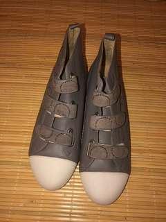 Grey Leather Shoes model GOSH SHOES