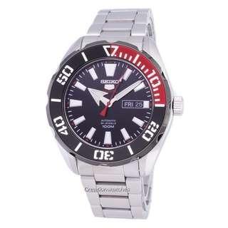 🚚 Seiko 5 Sports Automatic SRPC57 SRPC57K1 SRPC57K Men's Watch