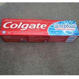 Colgate高露潔清新薄荷冰爽牙膏160g