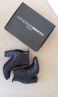 Windsor Smith Letty Black Boots Size 7.5 (RESERVED)