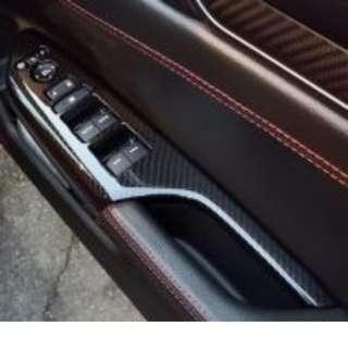 Honda Civic FC Carbon Power Window Cover