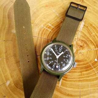 Timex Camper vintage hand-winding watch
