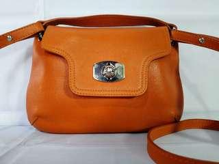 Authentic Furla Leather Small Crossbody Bag