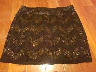 Ojay beaded party skirt new