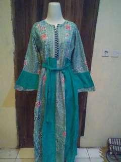 #barter Gamis batik trendy