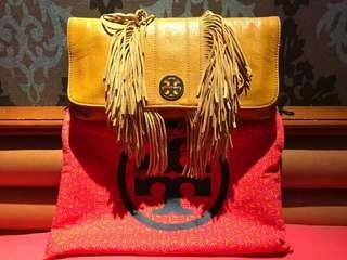 Tory Burch Fringe Clutch