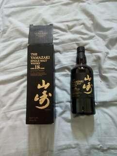 山崎威士忌18年