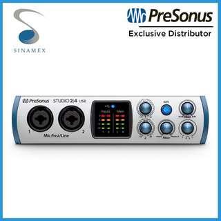 PreSonus Studio 24 USB Audio Interface