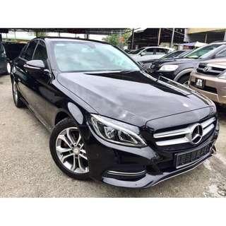2015 Mercedes Benz C200 2.0 (A) UNDER WARRTY 2019