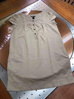 Mango Linen Dress (Size 4)