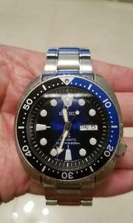 Seiko SPRC25J1 精工新款藍飽魚