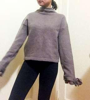 Brownish Purple Sweater