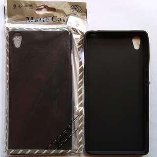 Soft Case Slim Black Matte Sony Xperia Z3 Big 5.2 Inch