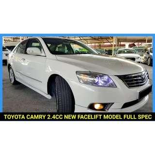 TOYOTA CAMRY 2.4 (A) V FULL SPEC FOR SALE