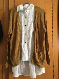 🚚 針織外套&無袖襯衫