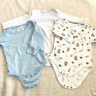 Three Baby Onesies