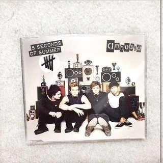 5 seconds of summer 5sos Amnesia ep CD