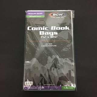 Acid Free Comic Bags Resealable Pack 100s