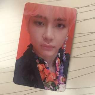 wts/wtt: bts taehyung S card