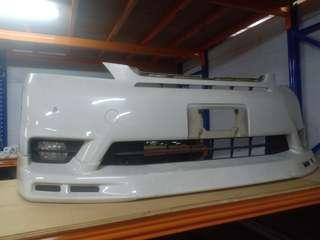 Velfire front bumper with fog lamp