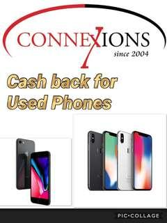 Cash back for Used iPhones