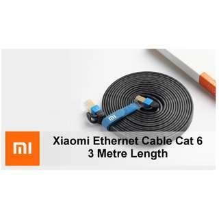 🚚 Xiaomi 1000Mbps Ethernet Cable Cat 6 (3 Metre)