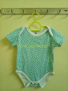 Pre❤ Baby Romper Polka-dot Green #DEC50
