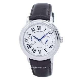 🚚 Raymond Weil Maestro Automatic 2846-STC-00659 Men's Watch