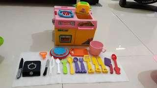 Kitchen toys assorted set