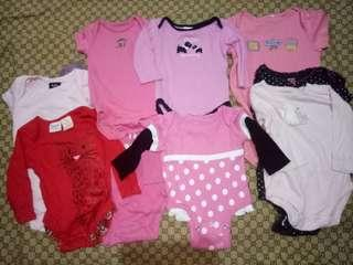 Bundle of Romper for her(Size 0-18M)