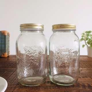 Bormioli Rocco Quattro Jars