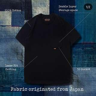🚚 GOOPIMADE SS18 Type-W 3D pocket Tee