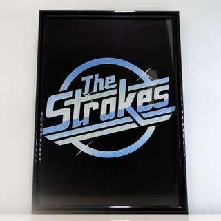 The Strokes Framed Logo