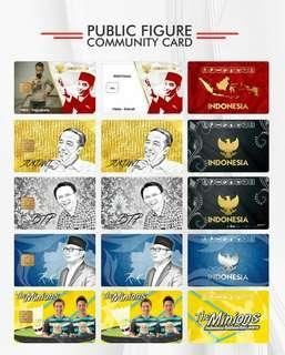 E Money & Flazz card