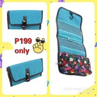 BLUE GREEN WASHBAG / ORGANIZER