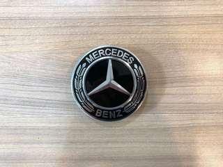 Black Mercedes Benz Wheel Cap